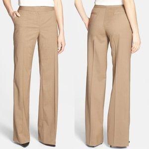 Lafayette 148 Delancey Stretch Wool Trousers 10